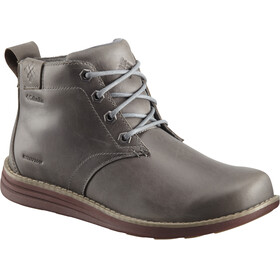 Columbia Irvington II Chukka LTR WP Shoes Men Dark Fog/Madder Brown